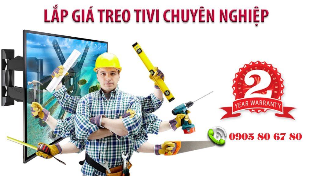 Chuyên lắp đặt Giá treo tivi - Kệ treo tường tại Đà Nẵng chất lượng