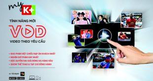 Truyền hình theo yêu cầu VOD miễn phí cho thuê bao K+